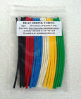 "24pc Heat Shrink Tubing 6 colors - 6"" long - Shrinkable Sleeve, Shrink Wrap"