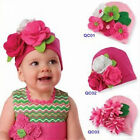1pc New Toddler Cotton Flower Hat Headwear Soft  Free Shipping