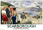 Scarborough, Yorkshire. LNER Vintage Travel Poster print by Edmund Oakdale c1930
