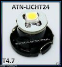 12V T4.7 Fassung LED 5050 SMD Chip Tacho Tachobeleuchtung Innenraumbeleuc​htung