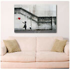 HUGE BANKSY There Is Always Hope CANVAS Print Picture PHOTO GICLEE Art DECOR