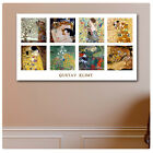 HUGE Canvas Gustav Klimt COLLAGE SET The Kiss reproduction fine art wall art