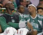 Kevin Garnett Paul Pierce Boston Celtics on bench fun 8x10 11x14 16x20 photo 818