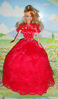 BARBIE DOLL HANDMADE WEDDING DRESS & 1 PAIR SHOES GIRL GIFT UK SELLER