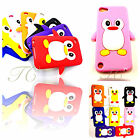 PENGUIN SILICONE CASE COVER FOR APPLE IPOD TOUCH 4TH GEN FREE SCREEN PROTECTOR