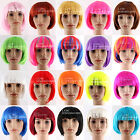 BOB DOLL COSTUME PARTY WIG DRESS UP HALLOWEEN -21 Colours AVAILABLE