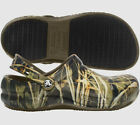 Crocs BISTRO RealTree Oil / Water Slip Resistant Work Chef Shoes All Size