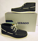 MENS LEATHER LACE UP FASTENING ANKLE BOOTS (SEBAGO B84022)