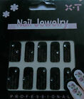3D NAIL DECALS CRYSTAL FLOWER,BODY TATOO STICKER,BRIDAL BODY ART,HALLOWEEN STICK
