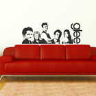 LARGE MUSICAL DRAMA GLEE  WALL ART STICKER TRANSFER DECAL STENCIL POSTER