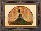 Art Nouveau PEACOCK EXOTIC DANCER GODDESS Glamorous Antique Vintage ART PRINT