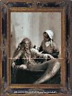 REAL MERMAID IN BATHTUB? 1800s Legend CURIOSITY ODDITY Old PHOTO Reprod. PRINT