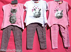 BN.**GIRL'S***CUTE BUNNY***&***KITTEN ***LEGGINGS SETS(multi sizes)