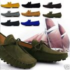 NEW Mens Comfy Cow Leather Casual Slip On Loafer Shoes Moccasins Driving Shoes#2