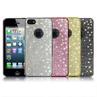 NEW APPLE iPhone5 Crystal Cubic Hard Case Cover_PS Case_Silver,Pink,Gold,Black