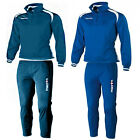 Macron Saga Full Tracksuit, Mens Blue Navy Small Large, XLarge XXLarge