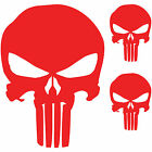 (3x) The Punisher Skull Vinyl Decal Window Sticker Marvel Comics (6
