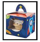 Space Rocket Cupcake Boxes Spaceship (G4)