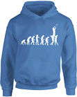 Evolution of Rugby, Ball Sports inspired Kids Printed Hoodie