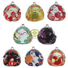 "Handmade Cat Clutch Coin Bag Change Purse Wallet 4x4""(8 different designs)SNA041"