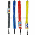 Long Reach Radiator Heater Cleaner Duster Bristle Brush Flexible 70CM Cobwebs