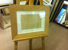 "MODERN 4"" FLAT SOLID OAK PHOTOGRAPH/PICTURE FRAME WITH PICTURE MOUNT"