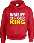 Weasley is our King, Ron, Harry Potter inspired Printed Hoodie