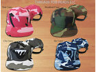 5 Panel Hat Army Cadet Pink Blue Gray Camo Camper Military Adj Leather Made USA