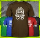 DJ CHEWBACCA CHEWIE FUNNY STAR WARS DUBSTEP WOOKIE DANCE NERD CLUB T-SHIRT TEE $12.99 USD on eBay