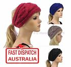 Crochet Handcrafted Knit Headband Winter Skiing Ear Warmer Head Hair Band TWIST