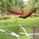 outdoor hammock  Parachute cloth Travel camping  hammock for 2 person couple ceo
