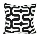 Premier Prints Embrace Modern Black & White Geometric Decorative Throw Pillow