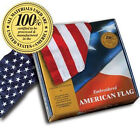 Embroidered 4-ft-by-6-ft American Flags *100% MADE IN U.S.A.* Allied Flag™ 4'x6'