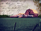 Rustic Barn Matted Picture Art Print A459