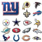 * NFL Teams -  Die-Cut Metal Color Auto Emblem - Decal , Sticker $8.49 USD on eBay