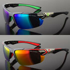 Mens Polarized Fishing Golf Hunting Sport Sunglasses Green Blue Red 5 Colors