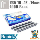 Rapid R36 Cable Staples 1000 Pk For R36, Arrow T25, Rapesco CT60 - 10, 12, 14mm