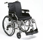 """Enigma K Chair folding deluxe lightweight wheelchair with full suspension 18"""""""
