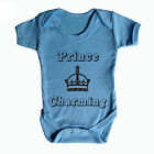 PRINCE CHARMING BABY GROW - BABY WEAR - FUNNY BABY GROWS - ROYAL THEME