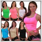 Sexy Ladies Summer Vest Top Women's Everyday Casual Tank Top One Size 6,8,10 UK