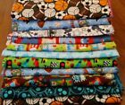 handmade double flannel baby/toddler blankets boys group 1