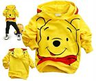 Toddlers Kids Boys Girls Winnie the Pooh Funny Hoodies Clothes Aged 2-8Years