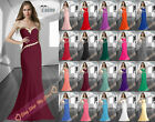 Noble Long Dresses Formal Evening Dress Prom Dresses Gown Bridesmaid Party 6-26