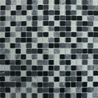 30x30 Atlantic Black Mosaic Tiles (5 Sheets Or More)
