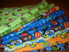 handmade double flannel baby/toddler blankets boys group 2