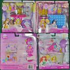 Disney Princess Doll ROYAL CASTLE Dining Bathroom Patio Furniture Barbie Set NEW