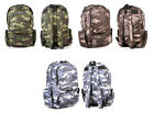 Backpack Rucksack School Bag Camouflage Design Gym College Travel FREE Fast P&P