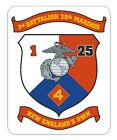 1st Battalion 25th Marines Usmc Vinyl Decal Sticker Military Armed Forces R287