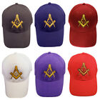 Masonic Hat Cap Embroidered in the USA 850PC