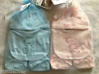 NEW BORN BABY BOY & GIRL GIFT SETS,  BOOTIES, BIB, HAT & SCRATCH MITTS 4 PIECE